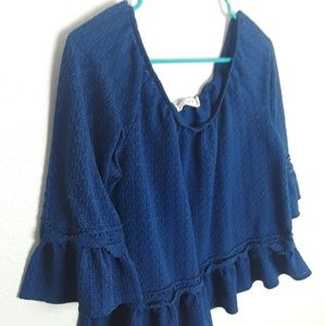 Live to be spoiled large top blouse.